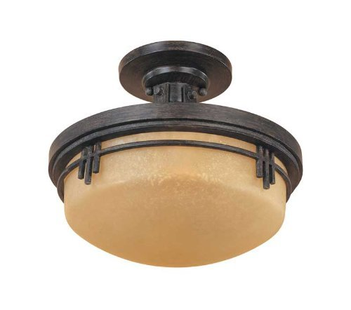 Moderne Pendant Lighting Designers Fountain - Designers Fountain 82111-WM Mission Ridge Semi-Flush
