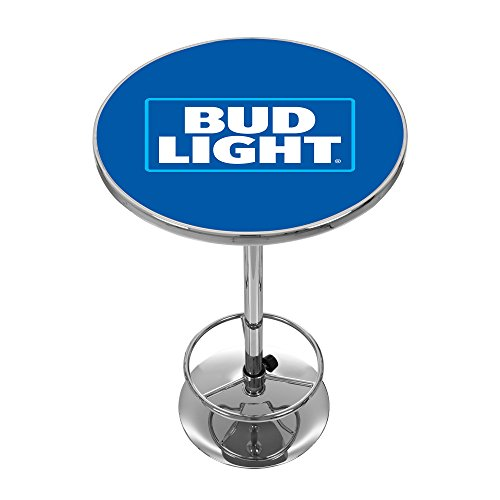 (Bud Light Chrome Pub Table)