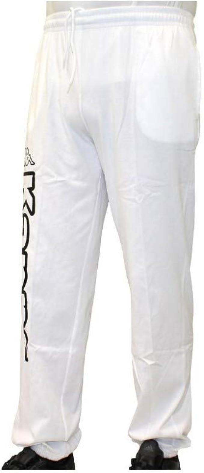 Kappa – Pantalón de chándal – Pantalón Costo Blanco XXXL ...