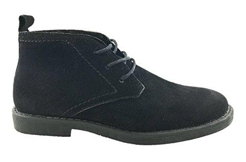 Desert Leather 8 Ladies Lined Black Ltd Boots Mc Suede Faux Ankle 3 Size Eyelet 2 5 Footwear UK vqwFPaw0