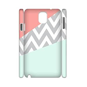 Coral Chevron 3D-Printed ZLB550946 Brand New 3D Cover Case for Samsung galaxy note 3 N9000