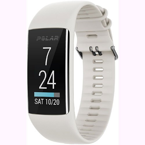 Polar A370 Waterproof GPS Fitness Tracker with Wrist Based HR - White / Small w/ Cinch Travel Bag by Polar (Image #3)
