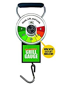 Original Grill Gauge Propane Tank Scale By Grill Gauge – Improved Design With New Easy Lift Indicator – Works On Standard 20 lb. Or 15lb Labelled Exchange Tanks