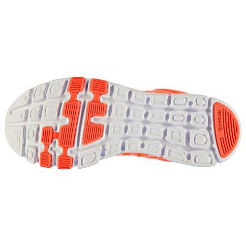 Reebok Yourflex Baskets pour femme Pêche/blanc Sneakers Chaussures de sport Chaussures