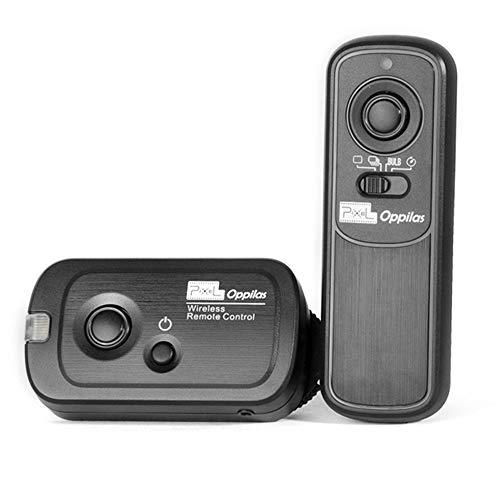 Pixel Oppilas 2.4GHz Wireless Remote Shutter Release Romote Control S1 for Sony A100 A200 A300 A350 A400 A450 A500 A550 A560 A580 A700 A850 A900 A33 A35 A37 A57 A65 A67 A77 A99 Replaces Sony RM-L1AM (Sony A300 Remote)