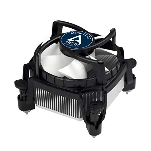 Arctic Intel Core i3 / i5 / i7 Socket 1156/1155 / 1151/1150 / 775 4-Pin Connector CPU Cooler with Aluminum Heatsink & 3.14-Inch Fan with TronStore Thermal Paste for Desktop PC Computer (TS79)