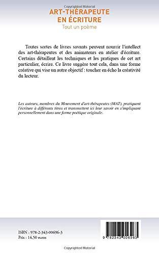 Art Thérapeute En écriture Tout Un Poème French Edition