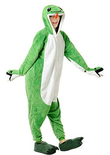 Unisex Snake (OVOV Adult Unisex Snake Animal Cosplay Onesies Pajama Costume Snake X-Large)