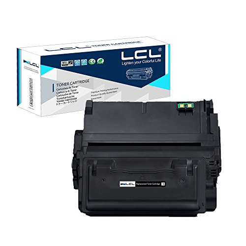 Hp Q1338a Toner Refill - LCL Compatible Toner Cartridge Replacement for HP 42A 38A Q5942A Q1338A 4200 4300 4250 4350 4345 (1-Pack Black)