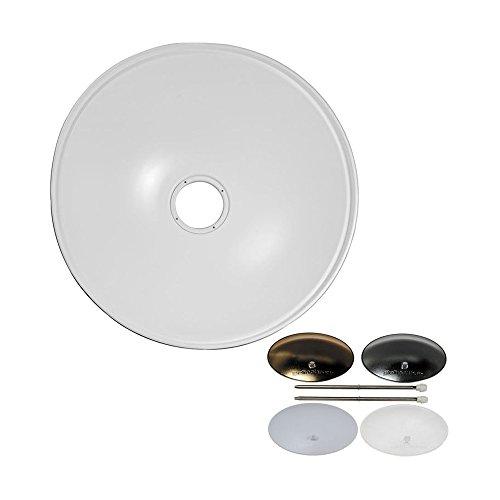 Elinchrom 70cm Softlite 82 Degree Reflector with Deflector Set - White (EL26169) by Elinchrom