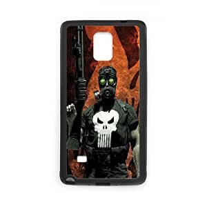 Punisher Comic Samsung Galaxy Note 4 Cell Phone Case Black Exquisite designs Phone Case KMJJ271H