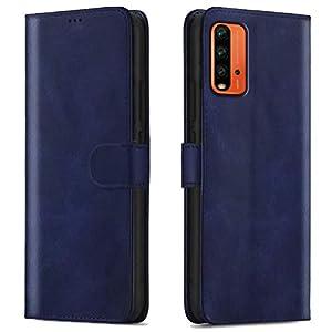 WOW Imagine Shock Proof Flip Case Back Cover for Xiaomi Mi Redmi 9 Power | Poco M3 (Flexible | Leather Finish | Card…