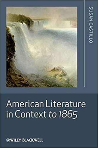 Book American Literature in Context to 1865 by Susan Castillo (2010-08-02)