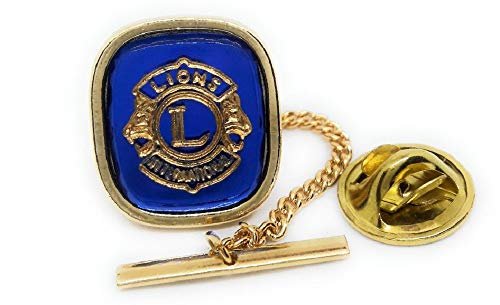Menz Jewelry Accs Lions Club Lapel PIN/TIE TACK Manufacturer Direct Pricing