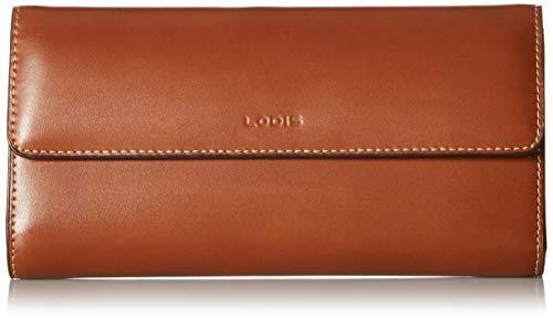 (Lodis Audrey RFID Checkbook Clutch, sequoia/papaya )