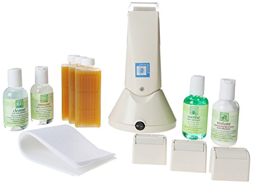 Clean + Easy Professional Waxing Spa Student Kit, 12 Count