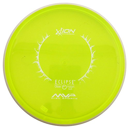 MVP Disc Sports Eclipse Proton Glow Soft Ion Putter Golf Disc [Colors May Vary] - 170-175g