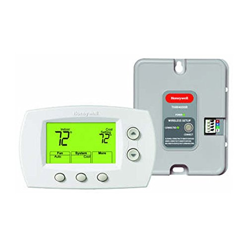 Honeywell YTH5320R1025 Wireless Non-Programmable FocusPRO Kit with Wireless Adapter Allows to be Used with TrueZONE Panel