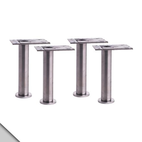 IKEA - CAPITA Leg, Stainless Steel 4 3/8-4 3/4'' (X4) by IKEA (Image #1)