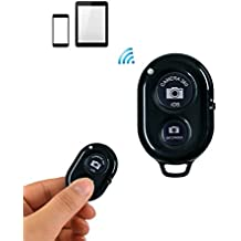 Smarlf Wireless Bluetooth Remote Phone Shutter Control with Camera Activation used with Monopod Selfie Stick for Apple iPhone Ⅹ 8/8 Plus Iphone 7 6 5 X iOS, Android and Tablets. Radom color