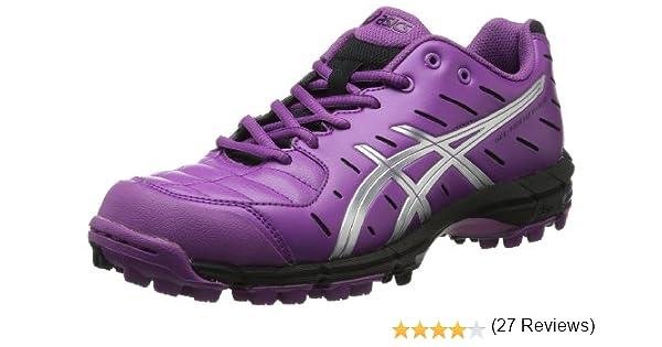ASICS Gel-Hockey Neo Field - Zapatillas de Hockey para Mujer, Morado (Violeta/Plateado/Negro.), 41 EU: Amazon.es: Zapatos y complementos