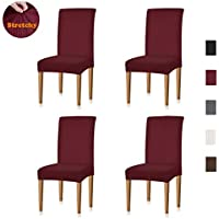 Xflyee Stretch Dining Room Chair Covers Jacquard...