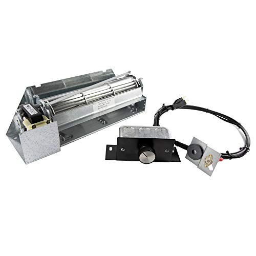 FireplaceBlowersOnline FBK-250 Fireplace Blower Kit for Astria, Lennox and Superior, Rotom HB-RB250 | Ball Bearing, Quiet, High Air Flow, Energy Efficient (Parts Superior Fireplace Doors)