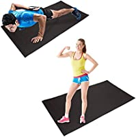 HD Fitness FM2000GREY Alfombrilla para Yoga o Proteccion ...