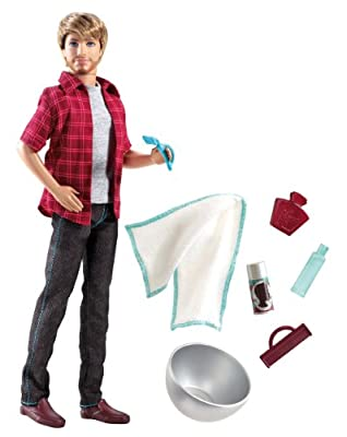 Barbie Shaving Fun Ken Doll by Mattel