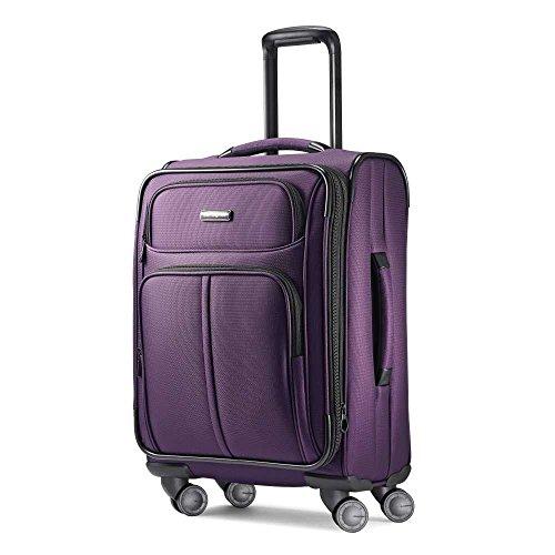 (Samsonite Carry-On, Purple)