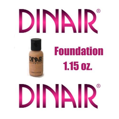 DINAIR AIRBRUSH MAKEUP - VANILLA- 1.15 OZ. FAIR SKIN COMPLEXION