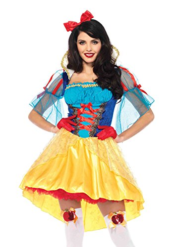 Leg Avenue Women's Storybook Classic Snow White Costume, Multi, ()