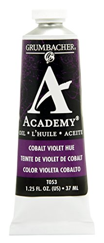 Grumbacher Academy Oil Paint, 37ml/1.25 Ounce, Cobalt Violet Hue (T053) (37 Ml Cobalt Violet)