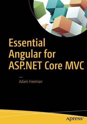 Essential Angular for ASP.NET Core MVC by Apress