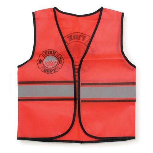 ToySource Dress up Fire Fighter Costume, Firefighter, 1 Vest