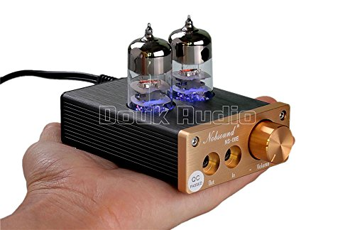 Nobsound NS-08E Vacuum Tube Integrated Amplifier Mini Audio HiFi Stereo Headphone Amp Best Selling Douk Audio