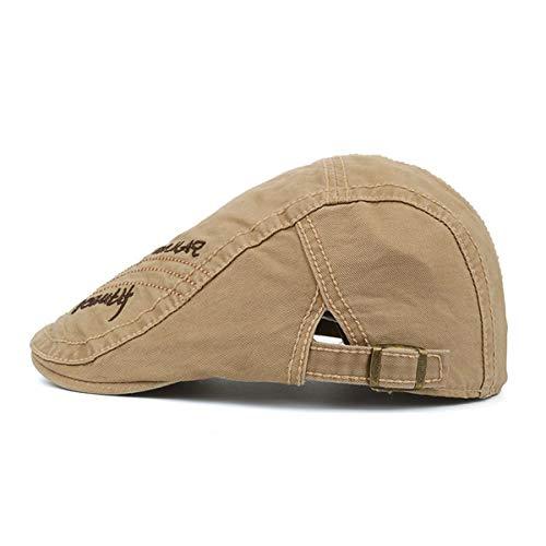 Pato del GLLH de Hombres C hat del Ocasional A qin Sol del de los Sombrero Hombres Sombrero Sombrero del algodón Sombreros Pintor Visera del los del Vintage BwqIxaw6Wr
