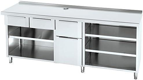 Macfrin 1220 Mueble de 250X60 Cafetero Trasbarra: Amazon.es ...