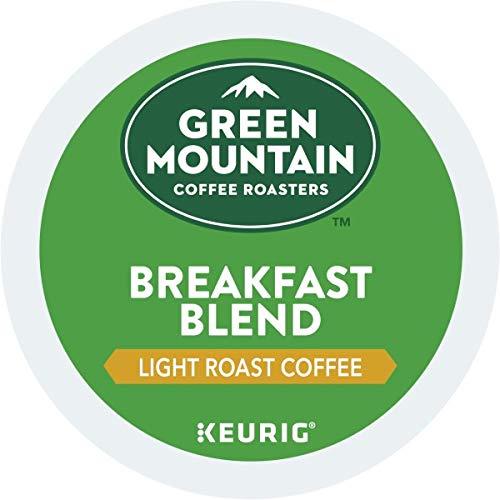 Green Mountain Coffee Roasters Breakfast Blend, Keurig Single-Serve K-Cup Pods, Light Roast Coffee, 96 Count by Green Mountain Coffee Roasters