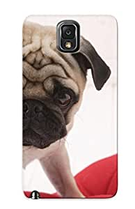 For Galaxy Note 3 Tpu Phone Case Cover(pug Puppy)