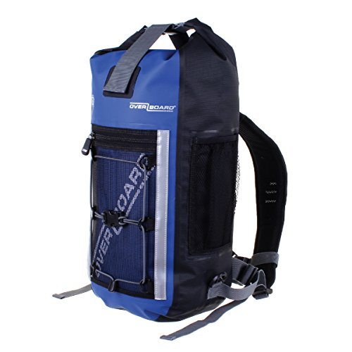 Overboard Pro-Sports 100% Waterproof Backpack Bag with Adjustable Chest and  Sternum Straps d5e03bb92ad5f