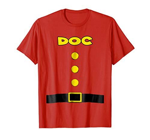 Doc Dwarf Halloween Costume Doc Dwarf T-shirt Doc Fans -