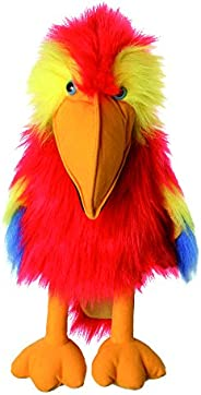 The Puppet Company Large Birds Scarlet Macaw Hand Puppet
