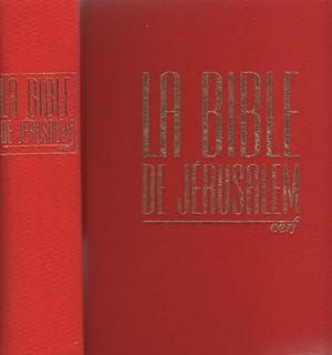 [Bible.] La Bible de Jérusalem 1 [Pentateuque], Ecole biblique (Jérusalem)