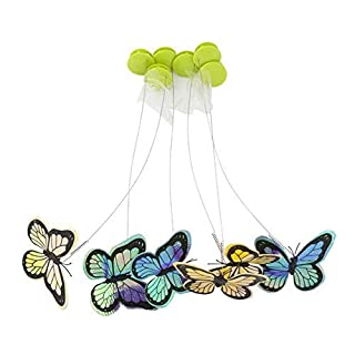 All for Paws Interactive Cat Butterfly Flutter Replacements Cat Fun Playing Toy, Re-Fill - 6 Pack