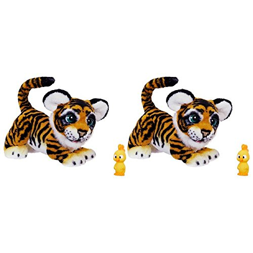 furReal Roarin' Tyler, the Playful Tiger 2 Pack
