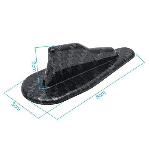 /Maso Universal evo-style PP Dach Haifischflossen Spoiler Fl/ügel Kit Vortex Generator ber1177 Haifischflossen Spoiler Fl/ügel/
