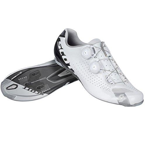 Scott Road RC Guantes Bicicleta de carreras color blanco/negro 2016 Negro white/black gloss Talla:44 EU