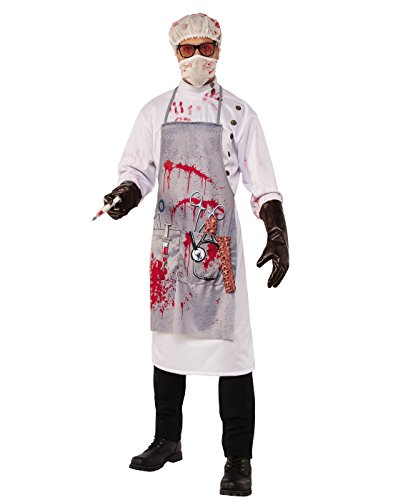 Costume Mad Nurse Halloween (Rubie's Costume Co. Men's Mad Scientist Costume, As Shown,)