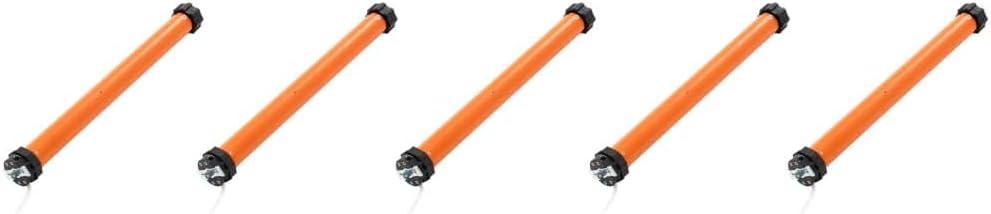pedkit Motor Tubular electromecánico Motor para persianas 5 Unidades 50 NM